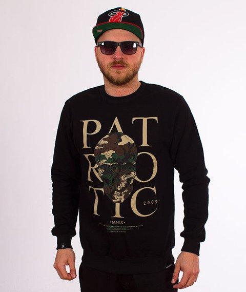 Patriotic-Skull Poland Camo BKL Bluza Czarna