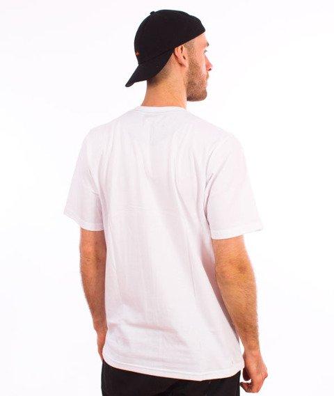 Patriotic-Sticker T-shirt Biały