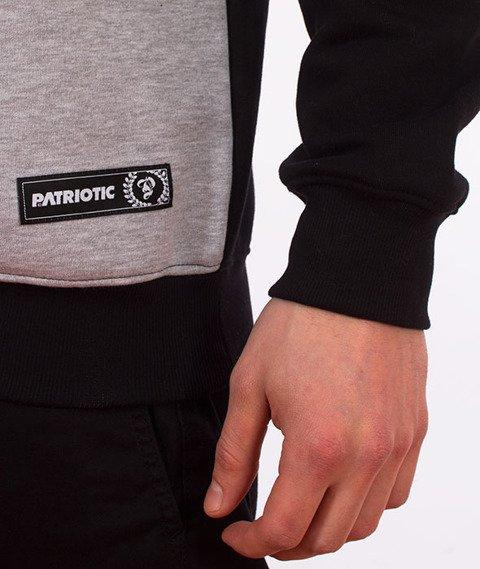 Patriotic-Tag Line Bluza Czarna/Szara
