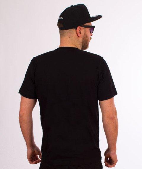Patriotic-Tag Mesh T-shirt Czarny