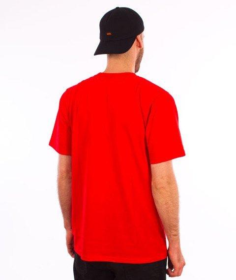 Patriotic-Tag Mini T-shirt Czerwony