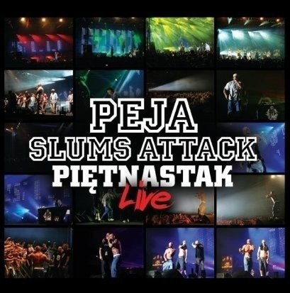 Peja Slums Attack-Piętnastak Live CD