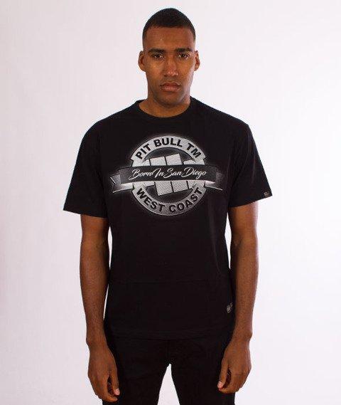 Pit Bull West Coast-Banner T-Shirt Black