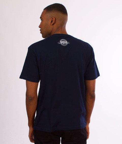Pit Bull West Coast-Banner T-Shirt Dark Navy