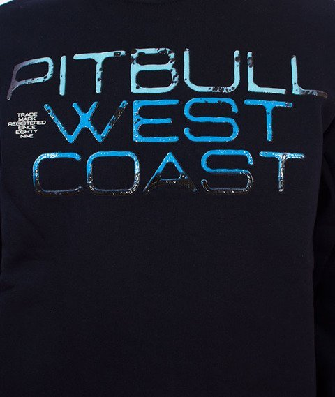 Pit Bull West Coast-Blue Eyed Devil Crewneck Bluza Granatowa