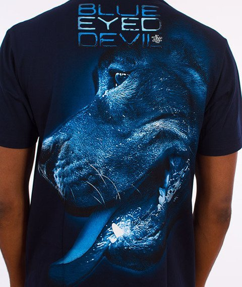 Pit Bull West Coast-Blue Eyed Devil X T-Shirt Granatowy