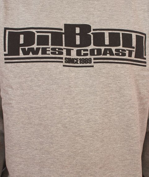 Pit Bull West Coast-Boxing Crewneck Bluza Szara