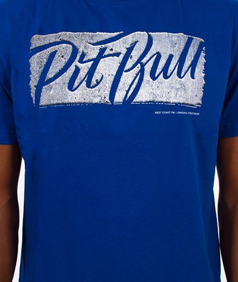Pit Bull West Coast-Carmar T-Shirt Niebieski