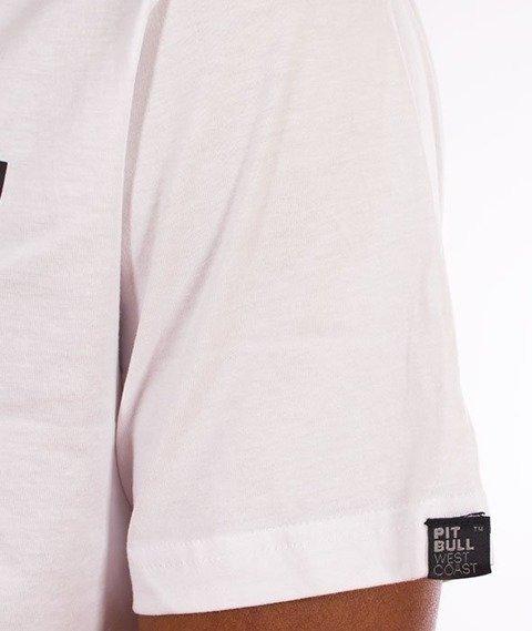 Pit Bull West Coast-Classic Boxing T-Shirt Biały