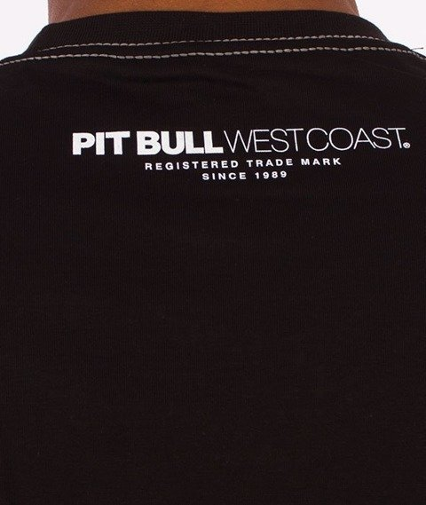 Pit Bull West Coast-Classic Boxing T-Shirt Czarny