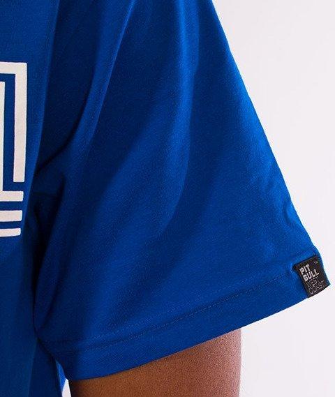 Pit Bull West Coast-Classic Boxing T-Shirt Royal Blue