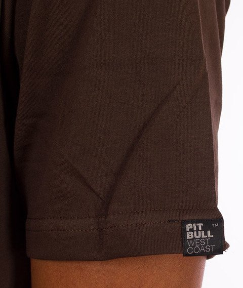 Pit Bull West Coast-Fighter T-Shirt Brown