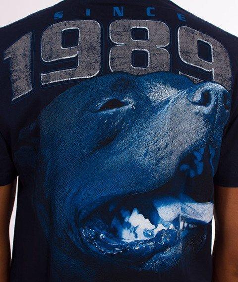 Pit Bull West Coast-Fighter T-Shirt Dark Navy