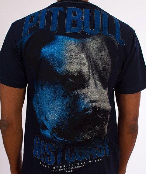 Pit Bull West Coast-Go Hard T-Shirt Granatowy
