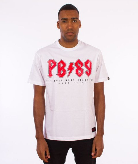 Pit Bull West Coast-Hard PB89 T-Shirt Biały