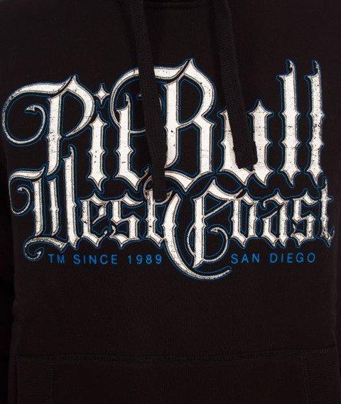 Pit Bull West Coast-Hooded Skull Dog 18 Bluza Kaptur Czarna