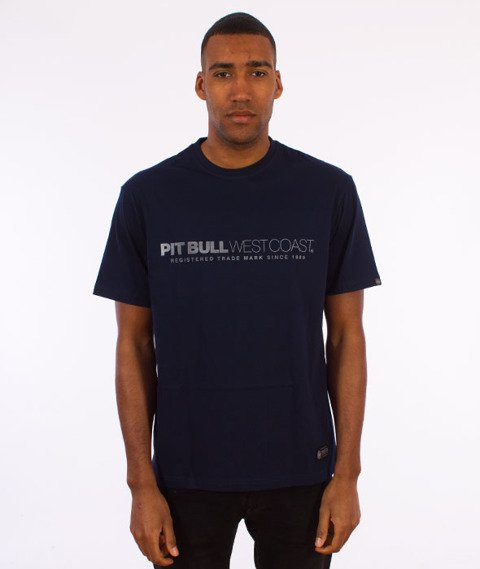Pit Bull West Coast-Iron Plate T-Shirt Dark Navy