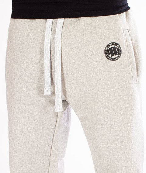 Pit Bull West Coast-Jogging Pants Logo Szare