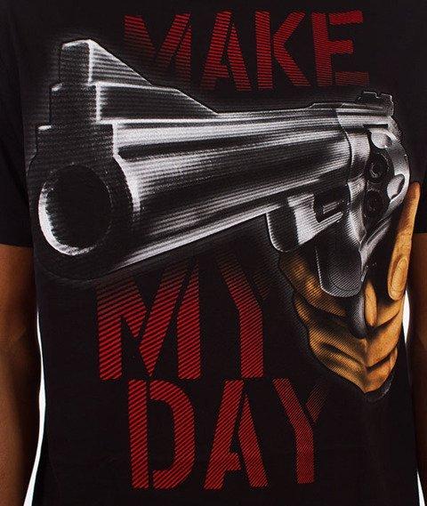 Pit Bull West Coast-Make My Day T-Shirt Czarny