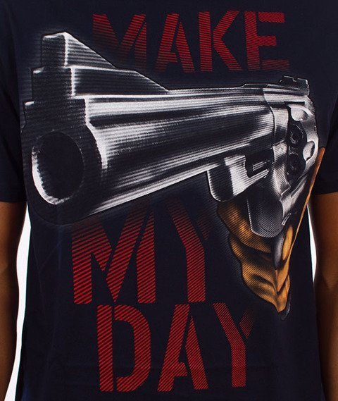 Pit Bull West Coast-Make My Day T-Shirt Dark Navy