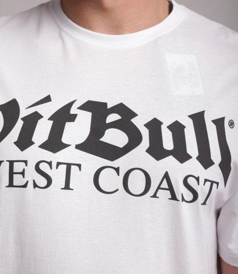 Pit Bull West Coast-Old Logo T-Shirt Biały