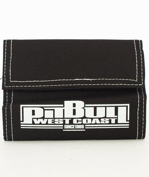 Pit Bull West Coast-Portfel Boxing Czarno-biały