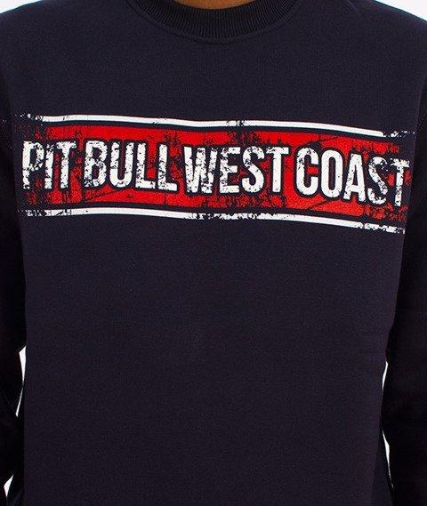 Pit Bull West Coast-Portrait Crewneck Bluza Granatowa
