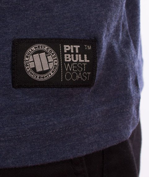 Pit Bull West Coast-Small Logo 18 T-Shirt Navy