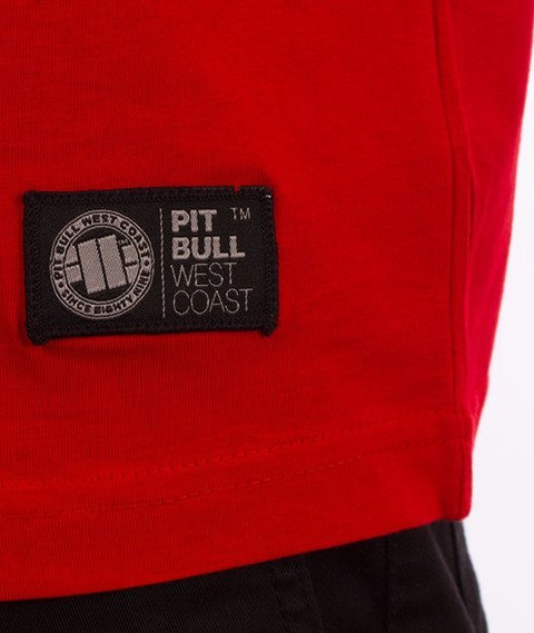 Pit Bull West Coast-Small Logo 18 T-Shirt Red