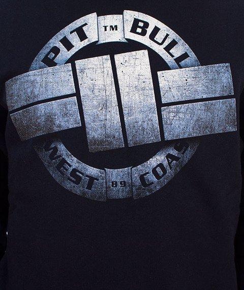 Pit Bull West Coast-Stell Logo Crewneck Bluza Granatowa