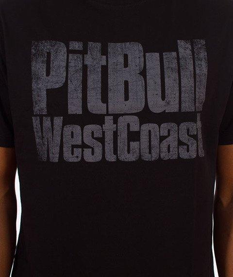 Pit Bull West Coast-Tribal Skull T-Shirt Czarny