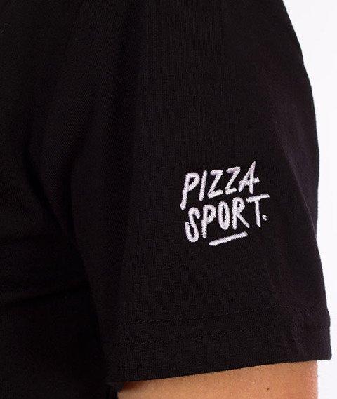 Pizza Sport-T-Shirt damski Czarny