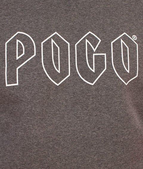 Pogo-Honda Crewneck Bluza Szara