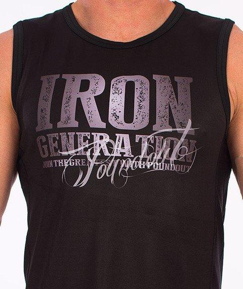 Poundout-Iron Generation Bezrękawnik Termoaktywny Czarny