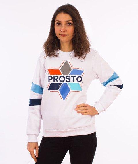 Prosto-Aurora Bluza Damska Biała