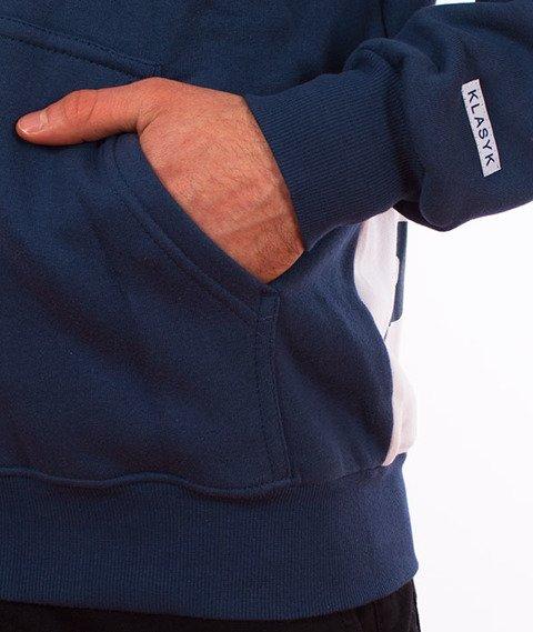Prosto-BOTB Bluza Kaptur Rozpinana Granatowa