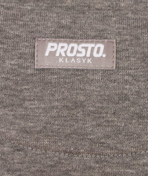 Prosto-Coldletter Bluza Damska Szara