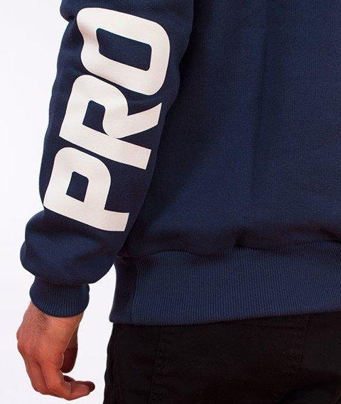 Prosto-Cuff Crewneck Bluza Navy