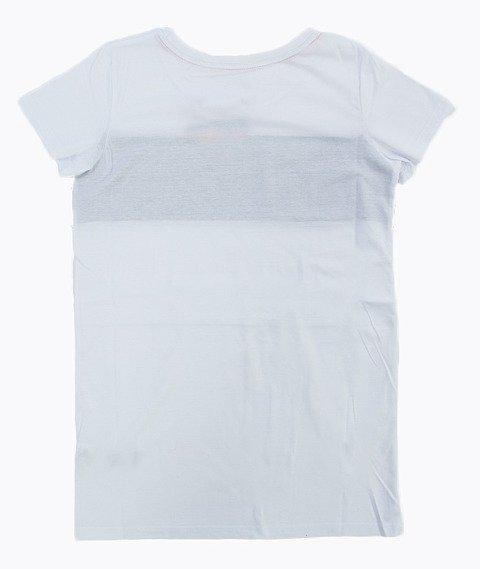 Prosto-Cycle T-shirt Damski Biały/Czarny