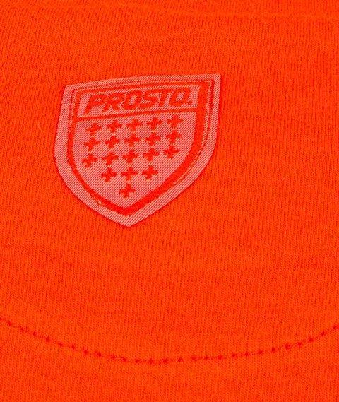 Prosto-Fence Shield T-Shirt Pomarańczowy
