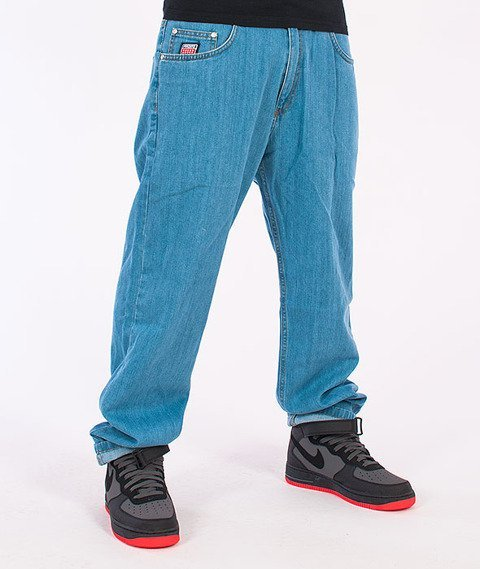 Prosto-KL Flavour Baggy Jeans Light Blue