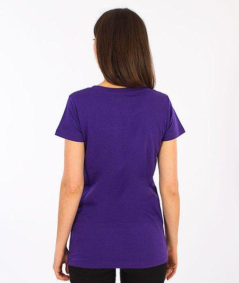 Prosto-Rolly T-shirt Damski Violet