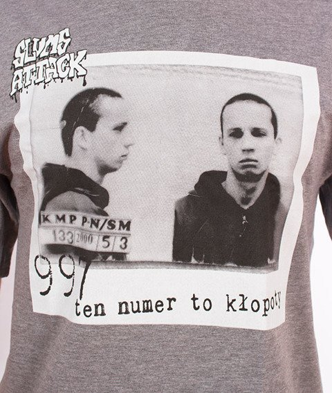 RPS KLASYKA-997 T-Shirt Szary