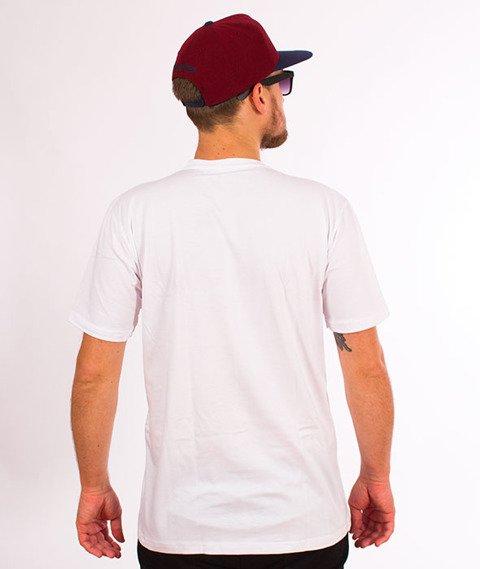 RPS KLASYKA-Old Logo Kolor T-Shirt Biały