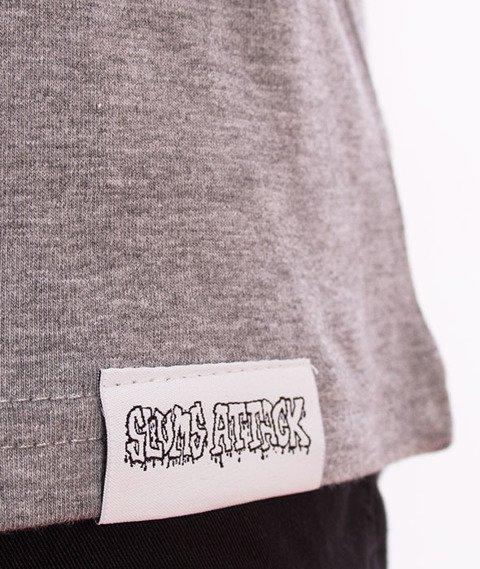 RPS KLASYKA-SLU GANG College T-Shirt Szary