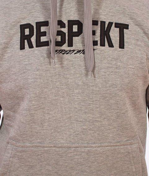 Respekt-Classic Bluza z Kapturem Szara