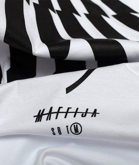 SB Maffija-SBM Glitcher T-Shirt Biały