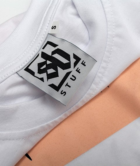 SB Maffija-Scream T-Shirt Biały