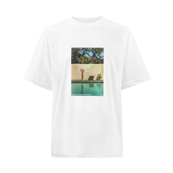 SSG Girls POOL & PLAYA T-Shirt Biały