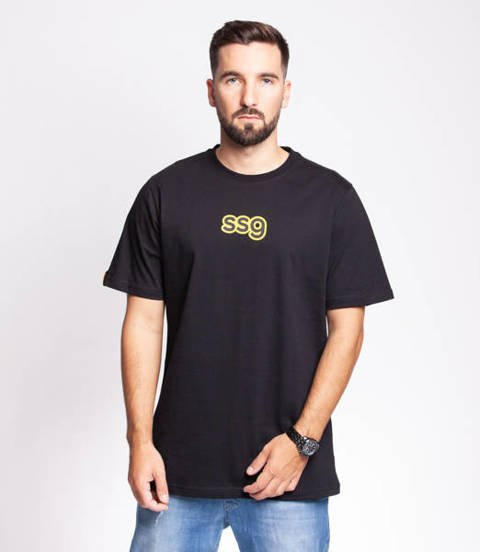 Smoke Story COMICS T-Shirt Oversize Czarny